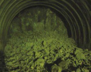 トンネル破砕写真